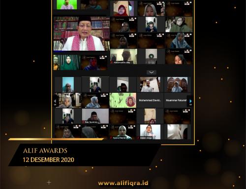 ALIF AWARDS : MENJADI GURU BERARTI SIAP MENERUSKAN AJARAN NABI